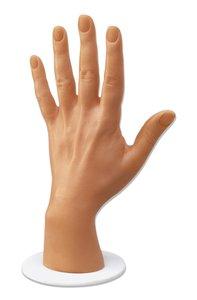 Hand aus Kunststoff, hautfarbig