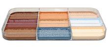 Palette Spezialeffektfarben, fest FX haut, 9 Farben
